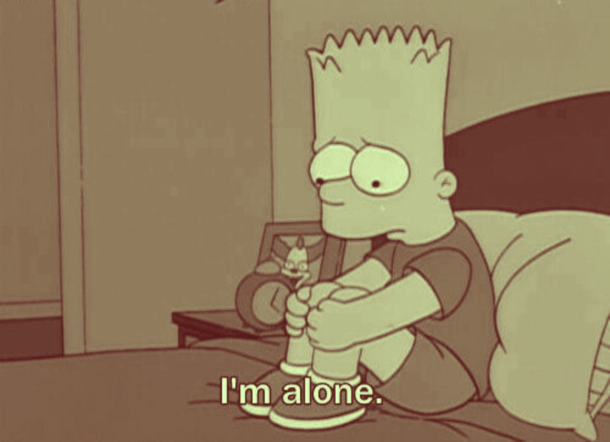 Mood Freetoedit Bart Sad Simpsons