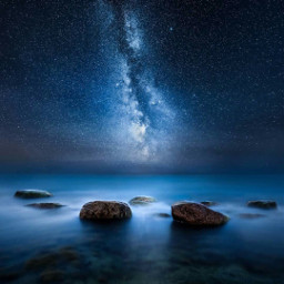 freetoedit night nightsky rocks midnightblue
