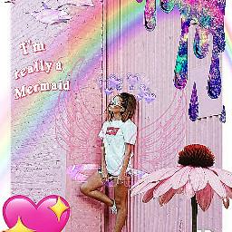 unicorngirl pink edit tumblr pastel freetoedit