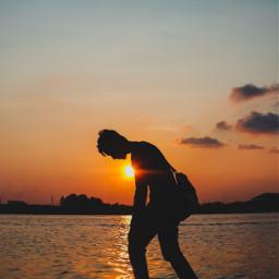 freetoedit sunset remixit photography picsart