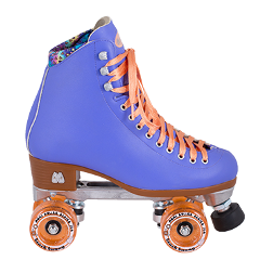 rollerskate retro vintage mood blue