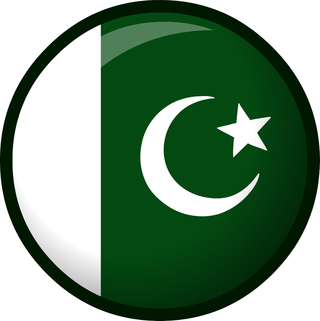 Flag pakistan country nation beautiful bedge scflag
