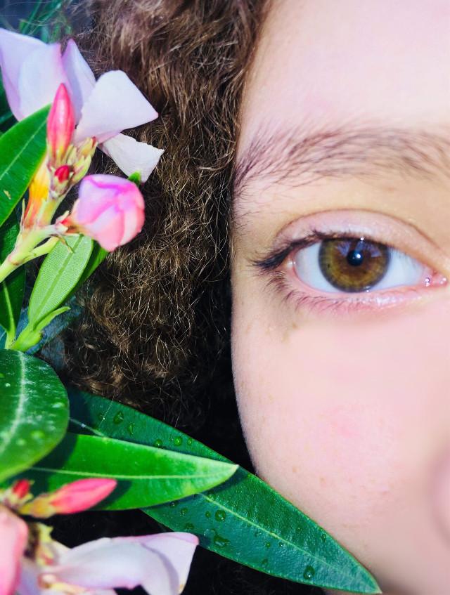 #eye #nature #green #brown #ojos #cafe #naturaleza #verde