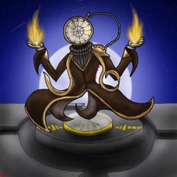 arttrade time clock poketwatch god