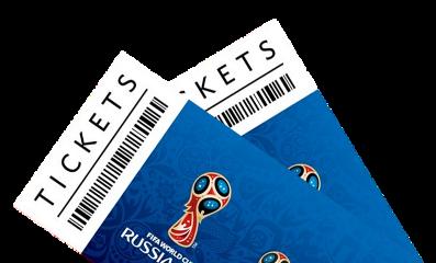 russia flag tickets worldcup stadium