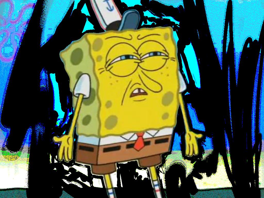 Sticker spongebob spongebobsquarepants lol meme memematerial memes lmao