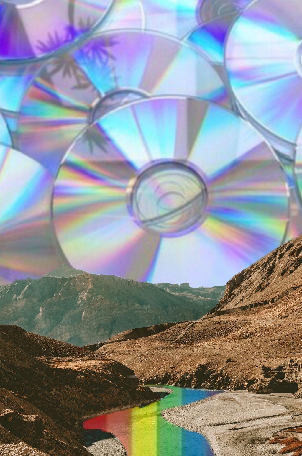 #freetoedit #edit #cd #aesthetic #mountain #rainbow #lake #stream #river #view #sky #hill