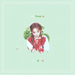 kimchunga ioi chungha kimchungha freetoedit