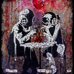 freetoedit banksy toxic love