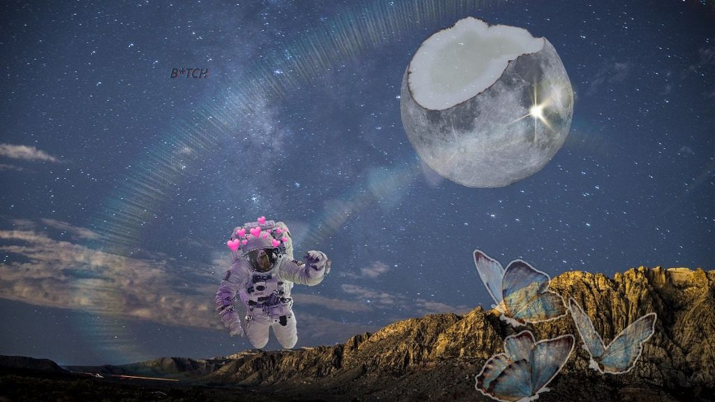 #freetoedit #remix #astronaut #edit