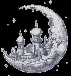 scmoon moon planet castle temple