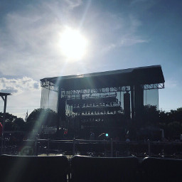 concert photography sun