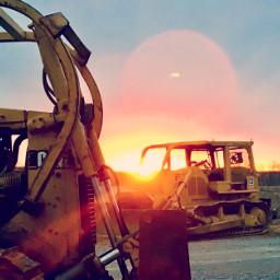 pcrusty rusty freetoedit photochallenge bulldozer