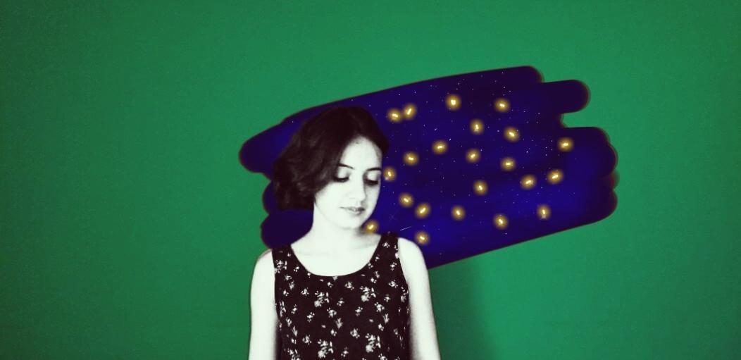 #freetoedit  #girly #green #universe #blue