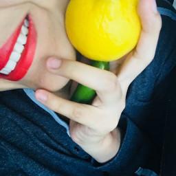 pcfruitselfie fruitselfie freetoedit lemons jalapeño