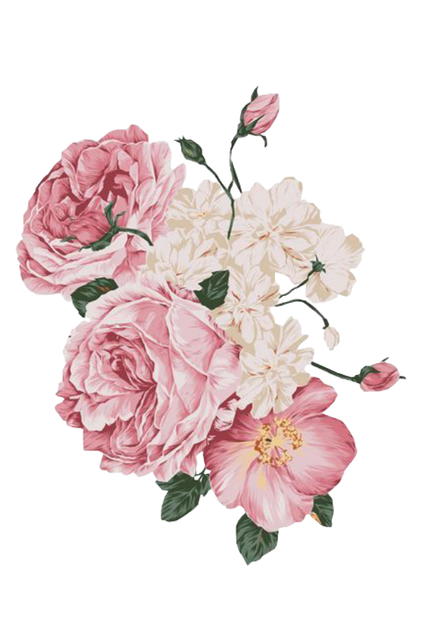 Flower Spring Pink Png Free Overlays Overlay Kpopedit
