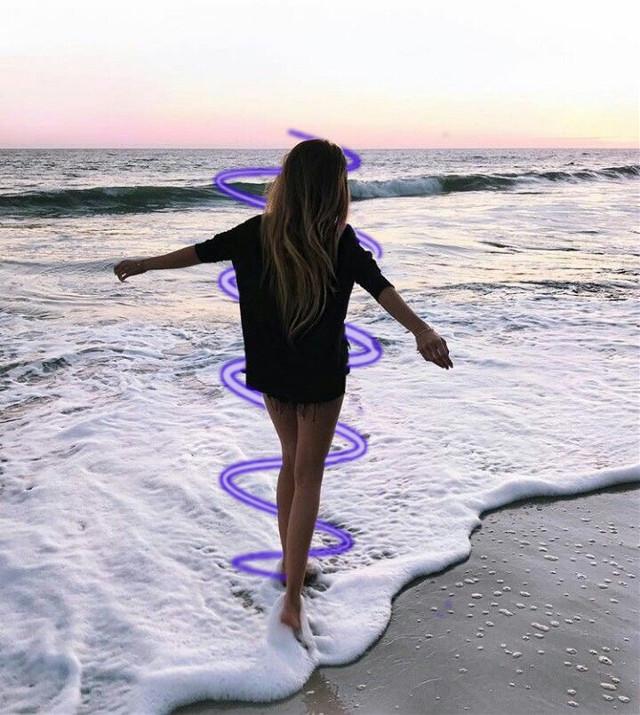 #tumblr #tumblrgirls #tumblrstickers #beach #sunset #likethis #followme
