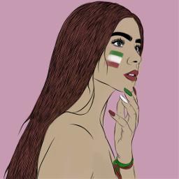 repost worldcup footballforall flag iran ecflagoverlay freetoedit