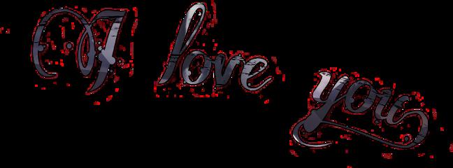 iloveyou edit beautifulsticker freetoedit