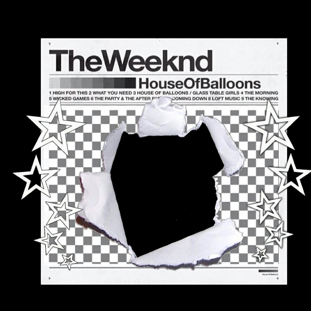 theweeknd abel abeltesfaye newspaper frame whiteframe...