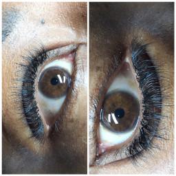eyeshadow eyes eyelashes eyelashextension