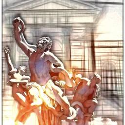 pencileffect statues fantasy