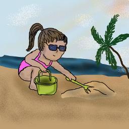 dcbeachday beachday drawing drawingmena