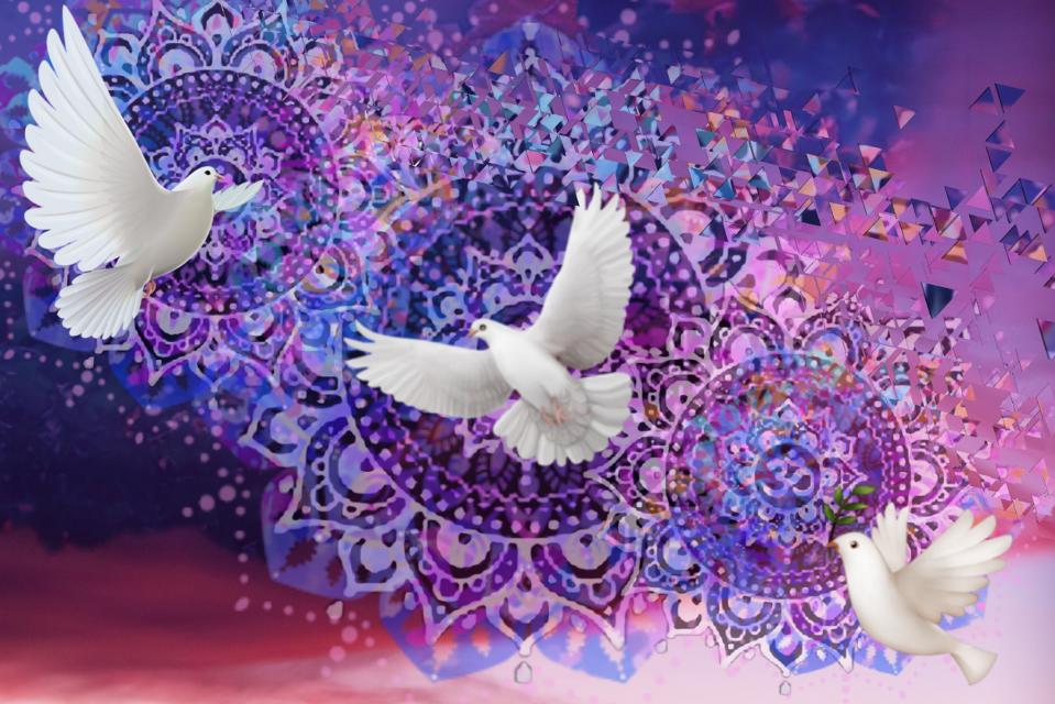 #freetoedit #stunningsky #peacesymbolstickerremix #innovative #pridemonth #mandalas❤