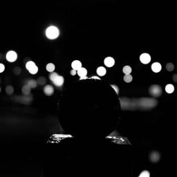 freetoedit bokeh lights night pcblackandwhite pcsomethinground pcblacknwhite blackandwhite