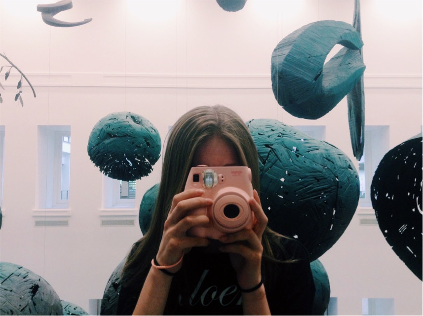 #freetoedit #girl #portrait #interesting #photography #vsco #art #downtown #columbus #ohio #camera #polaroid