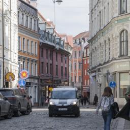 riga latvia street photography travel