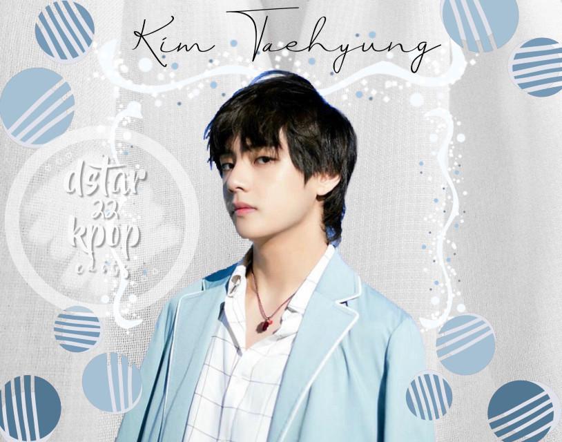 #freetoedit #kimtaehyung #taehyung #v #BTS #btsv #kpop #blue #grey
