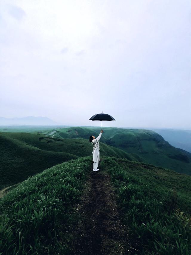 #freetoedit #portrait #girl #photography #iPhone  #Kumamoto #Japan #Japanese #nature #umbrella
