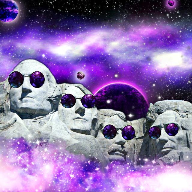 #sunglassesday #galaxybrush #curvestools #surreal Original images by Pixabay and @jangjw129