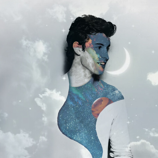 #freetoedit #shawn #shawnmendes #mendes #mendesarmy #love #space #life #moon #stars #colorful #colors #lostinjapan #singer #night #sky ~ 💙💫