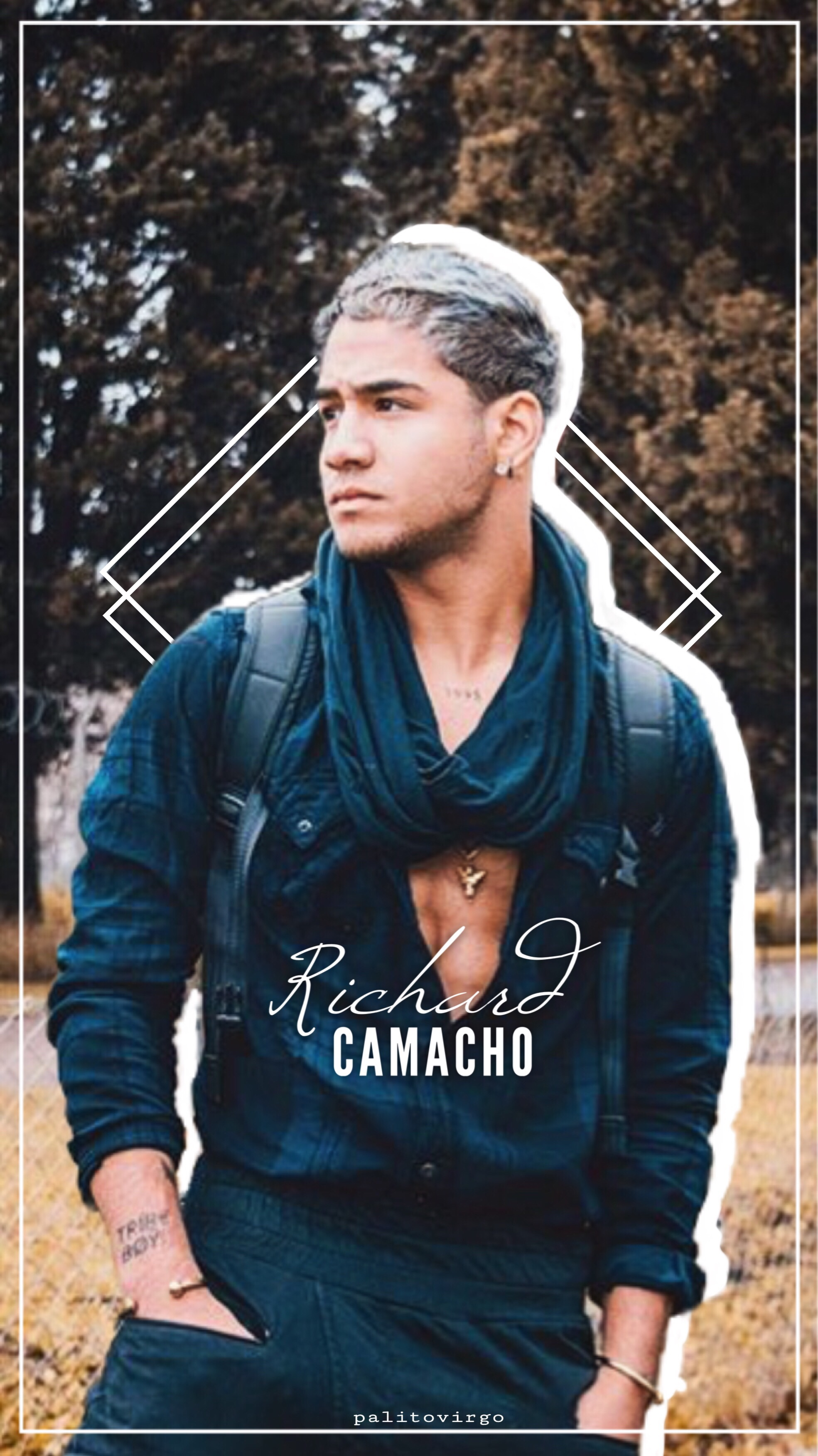 1f654f733dce6c RICHARD CAMACHO~ 🍃cnco richardcamacho fondodepanta... - 1969 x 3502 jpeg  842kB