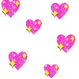 transparentstickers tumblrstickers heartstickers pinkheartemoji heartemoji freetoedit