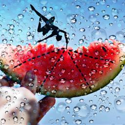 freetoedit rain ballerina umbrellagirl umbrella
