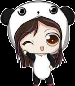 Kawaii Chibi Panda Girl Kawaiichibipandagirl