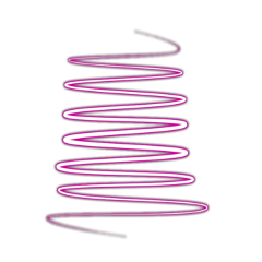 spiral neon pink artistic ftestickers