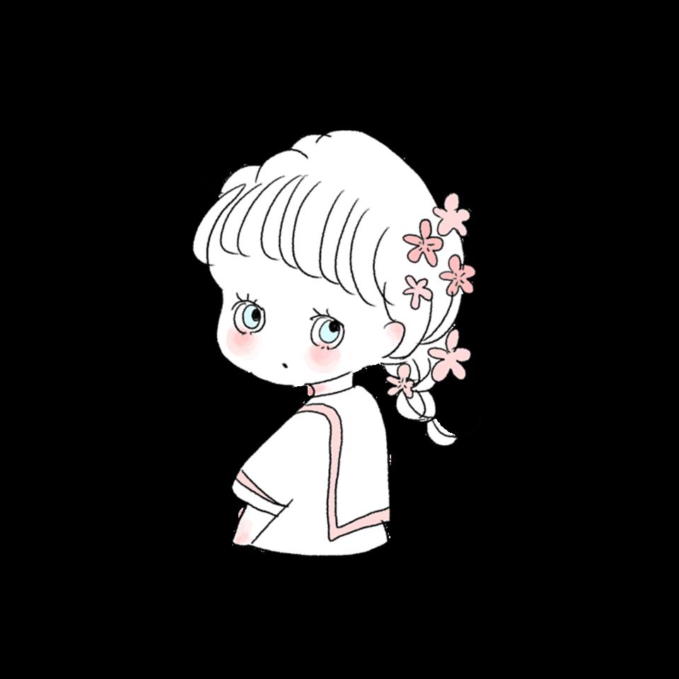 セーラー服可愛いcahoオシャレ女の子イラスト freetoedit