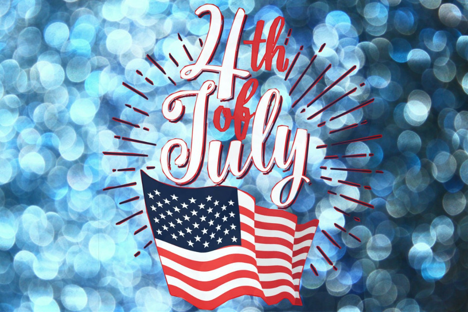 #freetoedit #july4th #independenceday #text #bokehbackground
