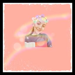 freetoedit laurenorlando loveher rainbow pink
