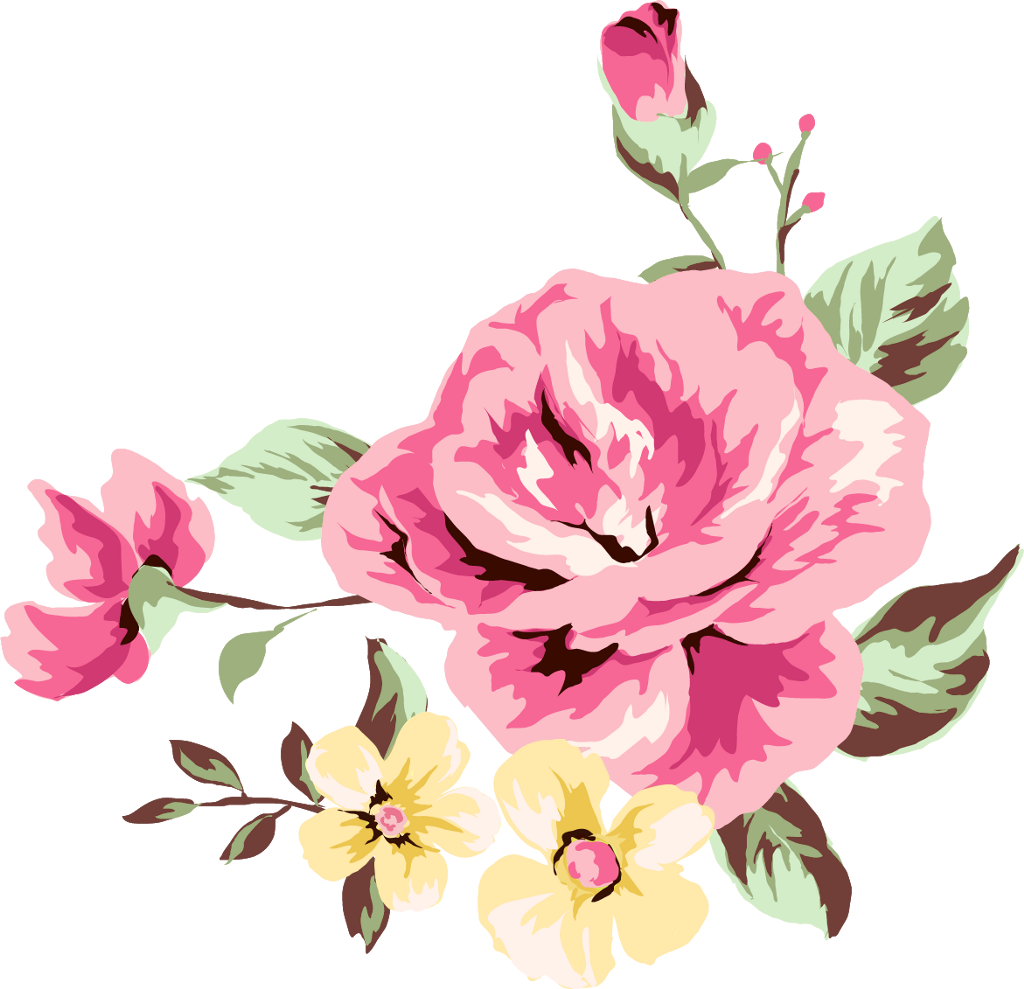 ورد رسمه Vector Flowers Freetoedit