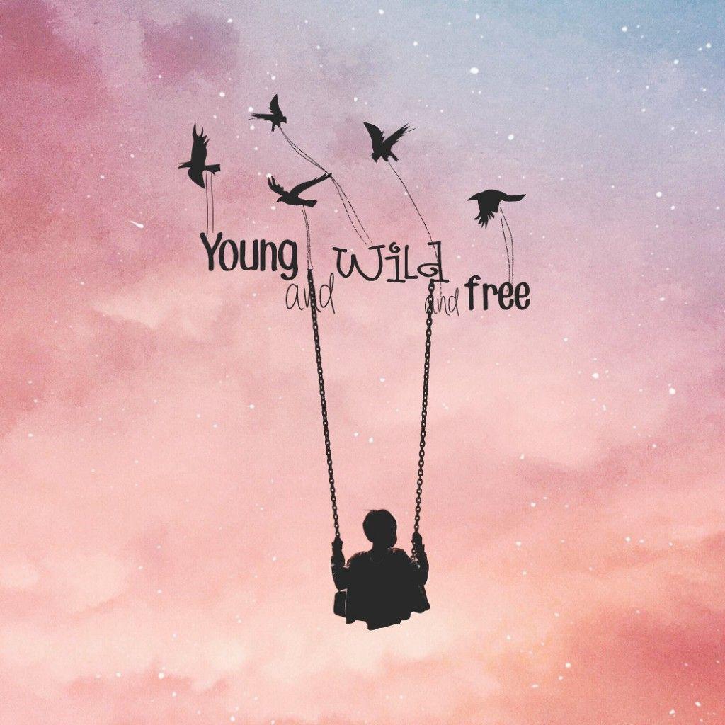 #freetoedit Young wild and free #sky #boy #birds #stars @picsart