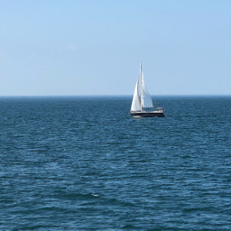 freetoedit beauty sea sailboat summer pcship