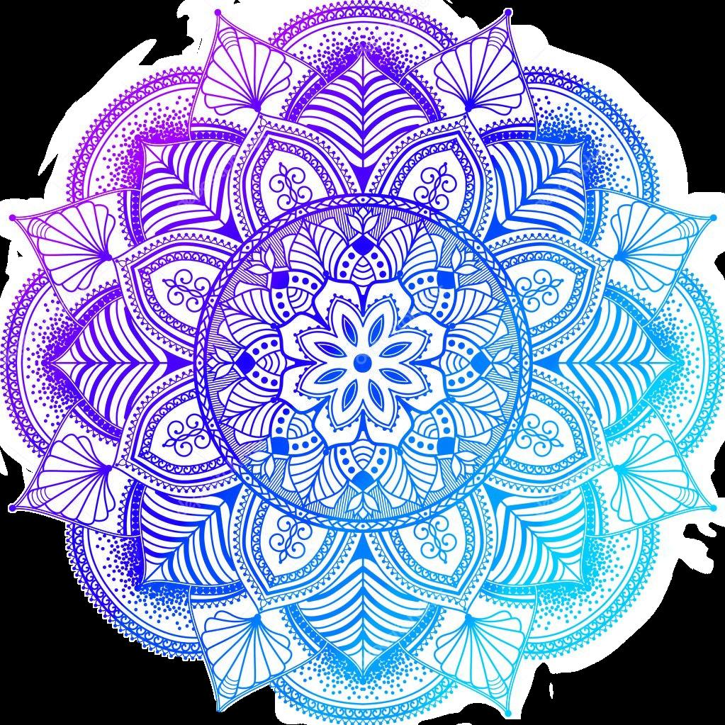 Mandalas Purple Blue Cute I Need A Stylus For My Phone