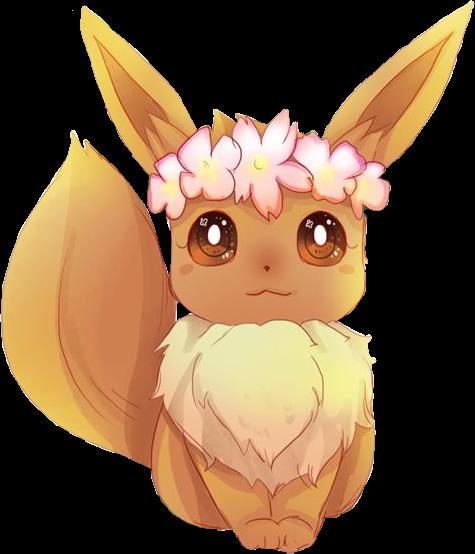 eevee pokemon anime cute animal cuteeevee eeveelutions