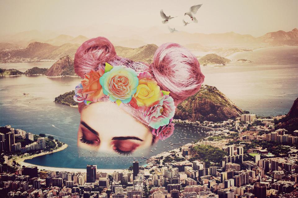 #freetoedit #headdress #dailyremix #dailyremixchallenge #flowers #surreal #remixchallengeoftheday #picsart #srcfridaflowercrown #fridaflowercrown