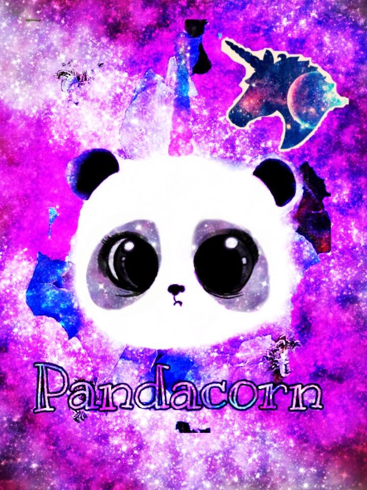 Freetoedit Galaxy Unicorn Pandacorn